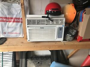 Haer window air conditioner with remote