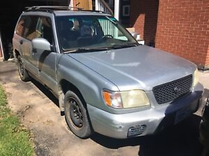 2002 Forester 5 speed $500 FIRM