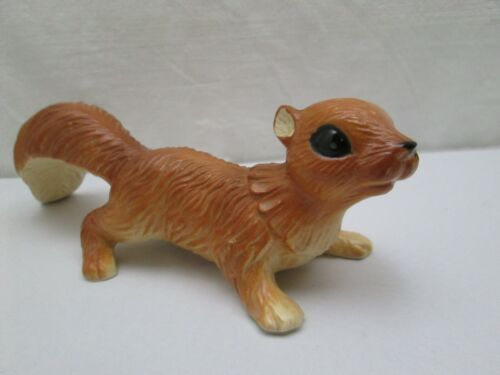 "Vintage Handpainted Artmark Japan Ceramic 10"" Squirrel Figurine"