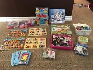 Kids Game/Puzzle Lot