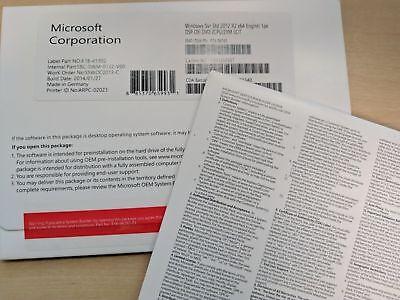 BRAND NEW,Microsoft Windows Server Standard 2012 R2 x64 2CPU/2VM OEM Version