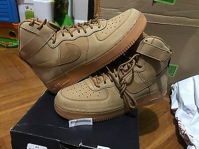 Nike Air Force 1 High '07 LV8 Flax Wheat Collection 806403 200 Men Youth Sizes