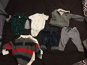 Boy clothing lot 6-12 months