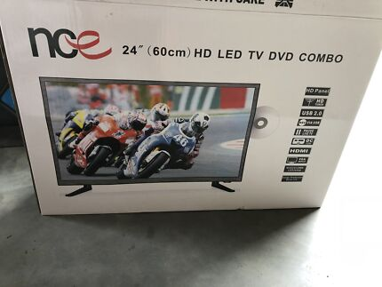"NCE 24"" full HD LED TV DVD combo"