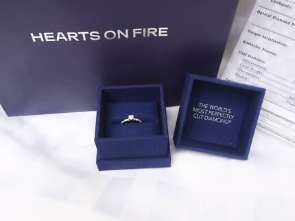 Diamond Ring - Hearts on Fire - Brand New - Never Worn