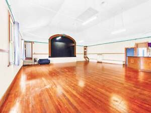 Massive Theatre Hall with Stage, Plus Studio and Residential 3br