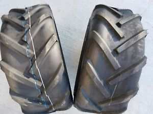 2 - 23X8.50-12 Deestone D405 6P Super Lug Tires AG DS5241 23x8.5-12