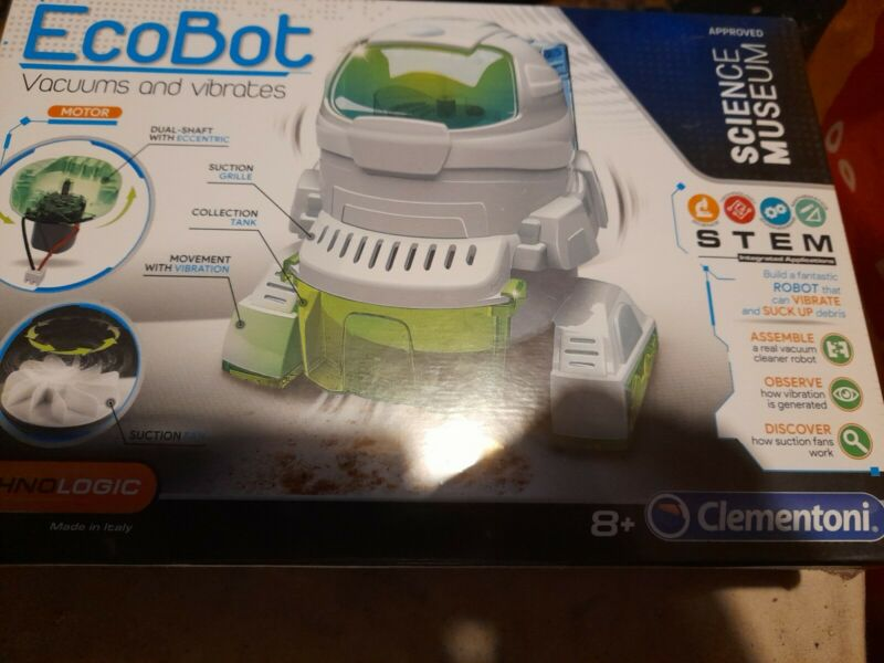 ++Clementoni+-+61777+-+Science+Museum+-+Ecobot+new+unopened+