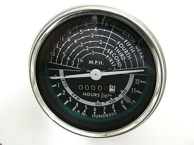 Replacement Tachometer Will Fit John Deere Model 60 - Black Face