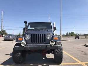 2002 wrangler tj for sale (lifted)