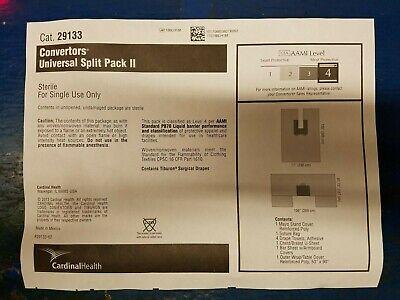 9 Count Case Cardinal Health 29133 Convertors Universal Split Pack Ii Level 4