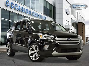 2017 Ford Escape Titanium 4X4 1.9%+PARK ASSIST