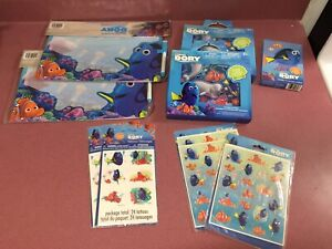 Finding dory kids items lot.