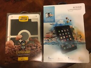 NEW Lifeproof Nuud Case & Otterbox Defender Case for iPad Air 2