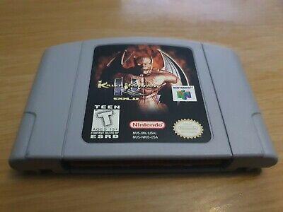 Killer instinct Gold n64 Usa Version