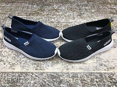 Adidas Running Shoes Women -  Adidas Women's CF Lite Racer Slip On Womens Running Shoes - Black / Navy