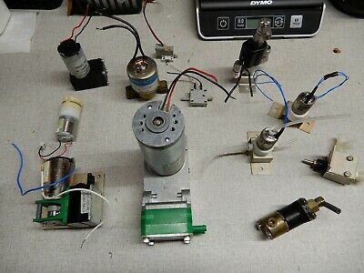 Misc Set Of Four Pumps Knfsieko Plus Valves And Vacuum Switch
