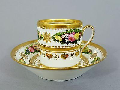 Biedermeier Tasse, wohl Frankreich um 1820/1830