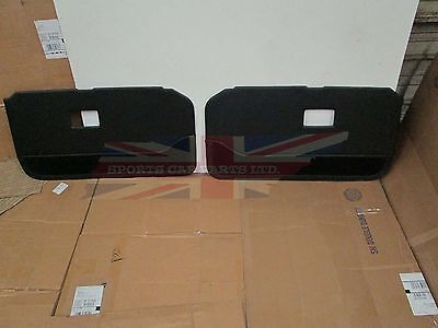 New Pair of Door Panels for MGB 1970-80 Deluxe With Carpet Bottoms  Made in UK Deluxe Door Panel Carpet