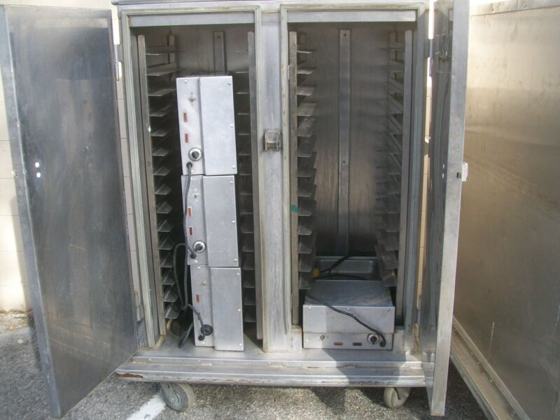 FOOD WARMER/HOLDING CABINET, 115V, REDUCED ,,2 DOORS,5 FT. FREE SHIPPING USA