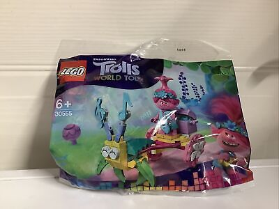 Lego Trolls World Tour Poppy's Carriage 30555 Polybag BNIP New Sealed