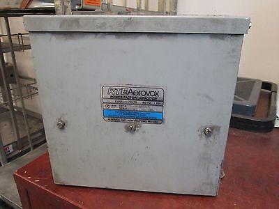 Rte Aerovox Power Factor Capacitor C85z4820e 20 Kvar 480v 60hz 3ph Used