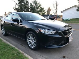 2016 Mazda6, loaded/extras, extended warranty until Nov 2020