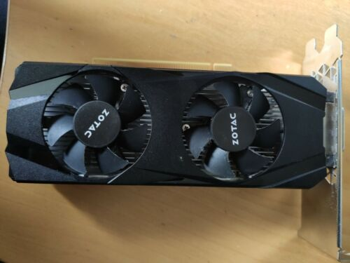ZOTAC GeForce GTX 1050 Ti Low Profile 4GB GDDR5 mini Grafikkarte