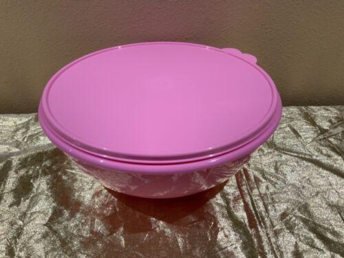 New Tupperware 6.5L Fix and Mix Bowl 27.5 cups PINK Color