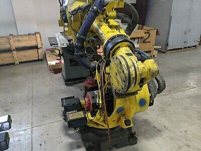 Fanuc Robot Arm R2000ib 210f And R30ia With Pendant
