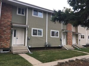 Modern three bedroom townhouse, available October 1st