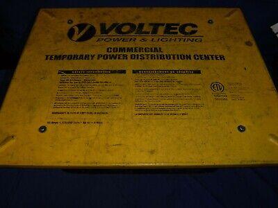 Voltec Power Lighting Temporary Power Distribution Center Box T-box-6t
