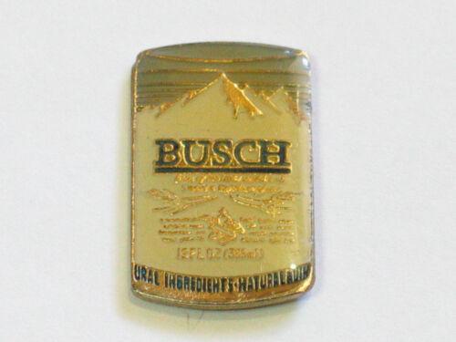 Busch Beer Lapel  _ Vintage Enamel Beer Can Pin