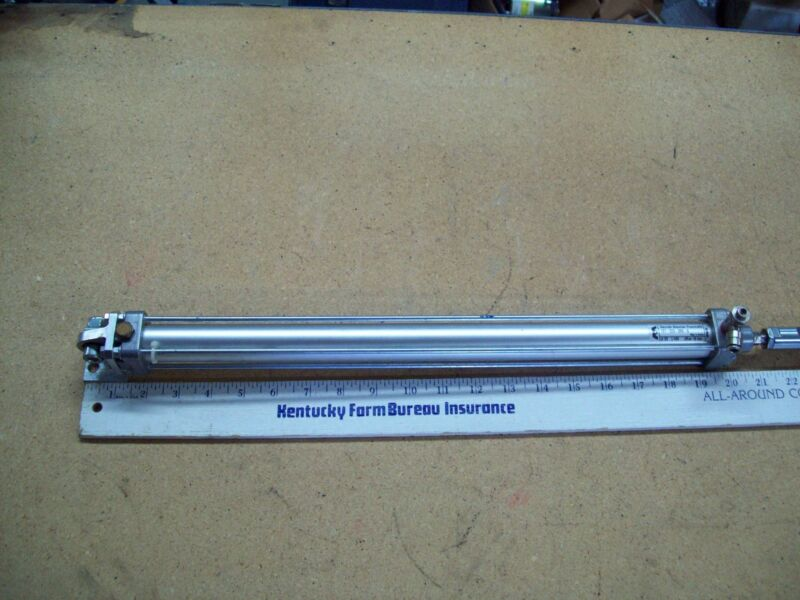 "Rexroth Pneumatic Cylinder 167-020-000-0  99W46   21"" LONG"