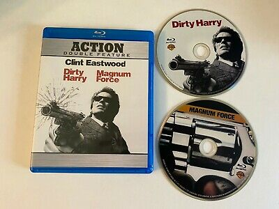 Dirty Harry / Magnum Force (Bluray) [BUY 2 GET 1]