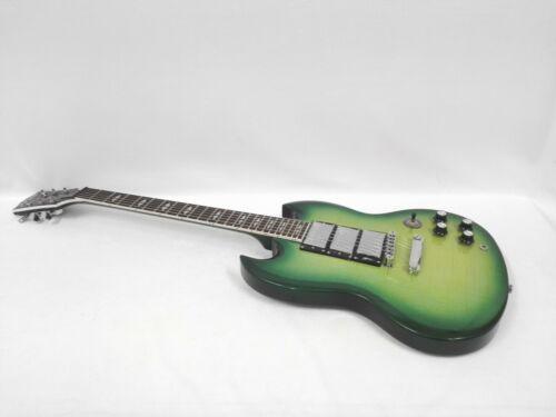 Haze Trans. Green Premium Mahogany Body Electric Guitar+Free Gig Bag DAE340ATGN