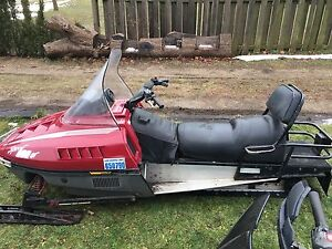 Two sleds trade for four stroke dirt bike  250 or bigger