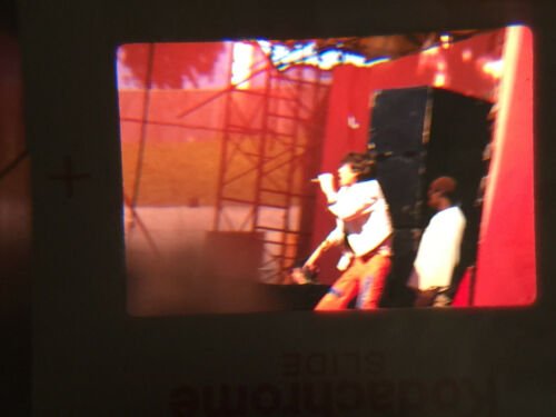 19x 35 mm SLIDES vintage PHOTO rock concert ROLLING STONES live SHOW mick jagger