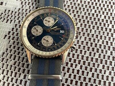 Rare Breitling old navitimer mint condition collector's watch stunning.