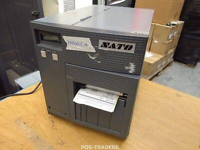 """SATO CL408E Parallel Thermo Label Drucker REWINDER 203dpi 4.1"""" 104mm - 19908.2 M"""