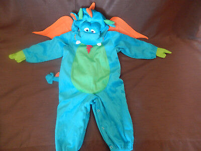 Dinky Dragon Costume by In Character Size M 12-18 Months No Booties - Dinky Dragon Costume