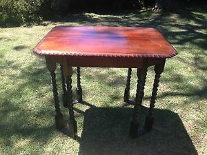 Hand made Jacobean style table Engadine Sutherland Area Preview