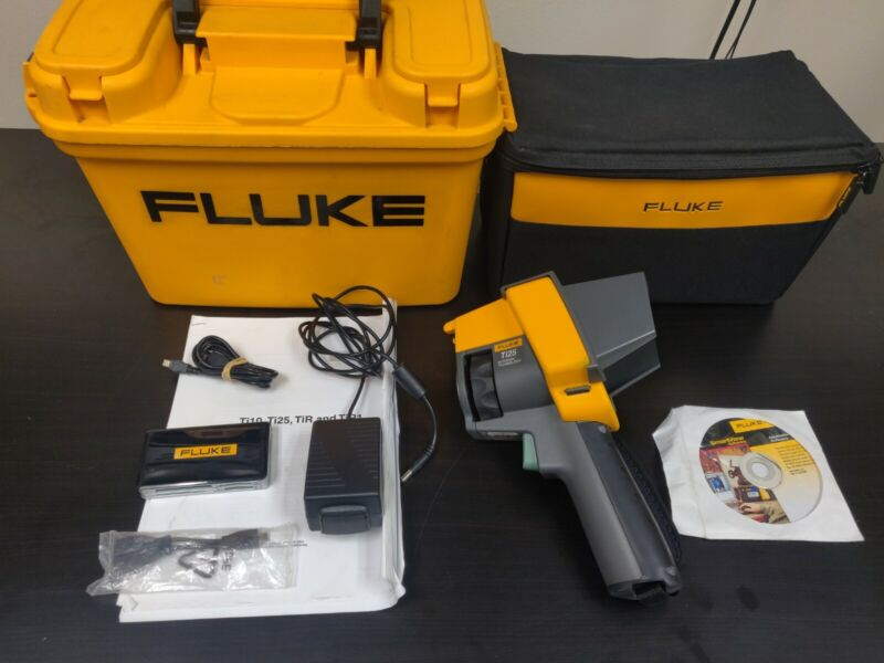 Fluke Ti25 Thermal Infrared Imager Imaging Camera IR-Fusion Case Accessories