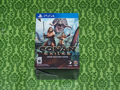 Conan Exiles Art-lover's Edition for PS4**NEW & MINT**GR8 PICS**FAST SAFE SHIP!