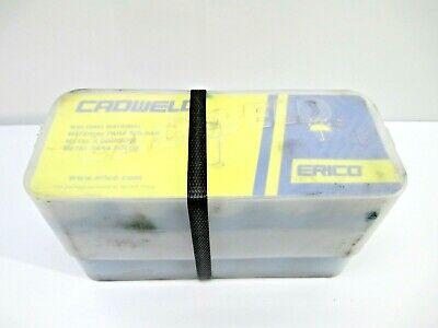 Cadweld Erico 200 Welding Material 1 Case 10 Cartridges Welding Construction