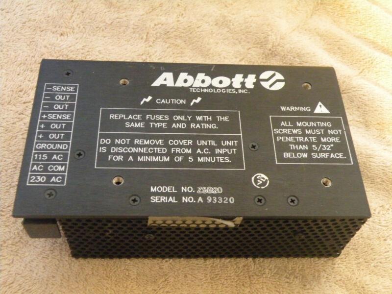 ABBOTT Z5B20 POWER SUPPLY