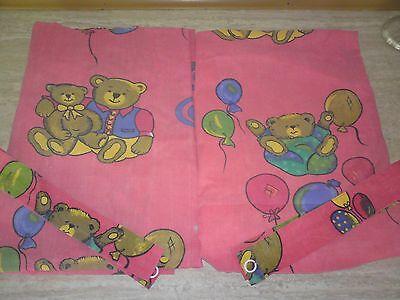 Übergardinen - Kinderzimmer - Kindergardinen - Teddys - 114 cm x 180 cm gebraucht kaufen  Auma