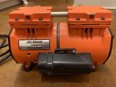 Jelenko Oil-less Vacuum Pump