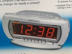 EMERSON RESEARCH CKS2235S SMART SET DUAL ALARM CLOCK RADIO W/ TOUCHLESS WAVE NEW