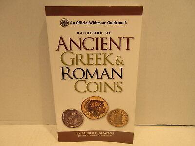 Whitman Guidebook Handbook Of Ancient Greek & Roman Coins by Zander Klawans